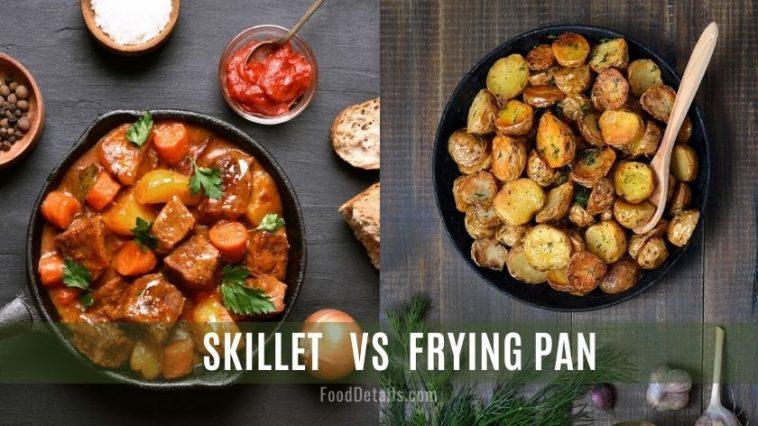 Skillet vs. Frying Pan